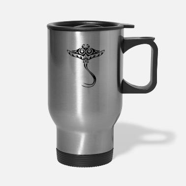Maori HAWAII HUGE 11 INCH MAORI STINGRAY OR GOLDFISH - Travel Mug
