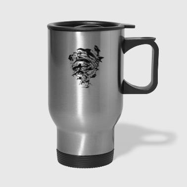 Sharks In A Tornado - Travel Mug