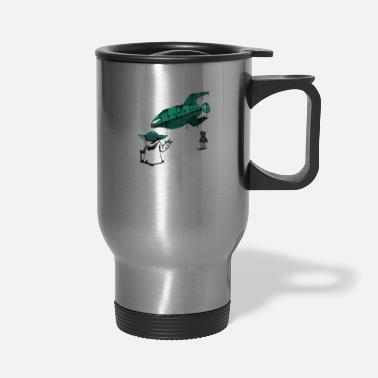 Lift Elevator Force Lift - Travel Mug