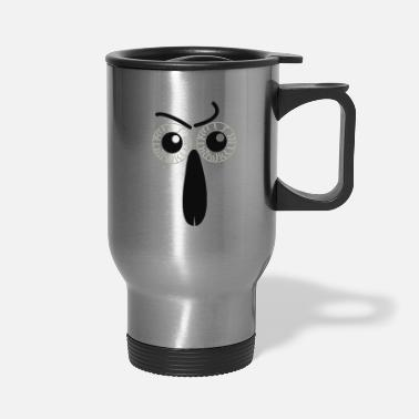 Nose eyes and nose - Travel Mug