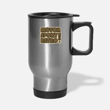 Motorsport Motorsport Retro - Travel Mug