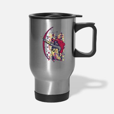 Greek Artemis Greek Olympian Goddess Archery - Travel Mug