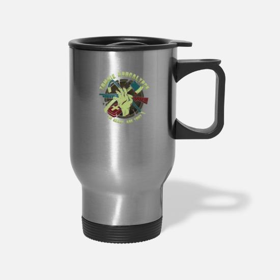 Zombie Mugs & Drinkware - Ready for the Zombie Apocalypse - Travel Mug silver