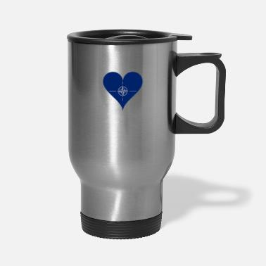 Nato NATO Heart - Travel Mug