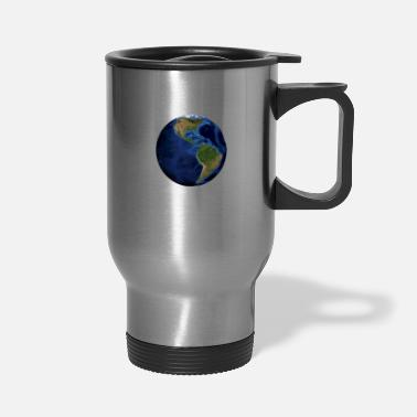 South America world globe North / South America - Travel Mug