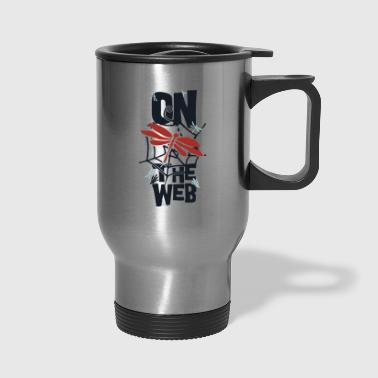 on the web - Travel Mug