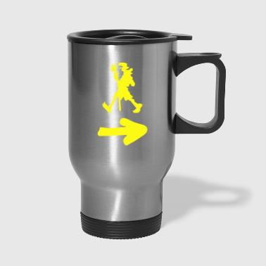 Pilgrim 011 Yellow - Travel Mug