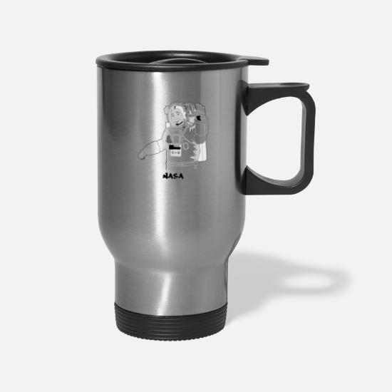 Nasa Mugs & Drinkware - NASA - Travel Mug silver