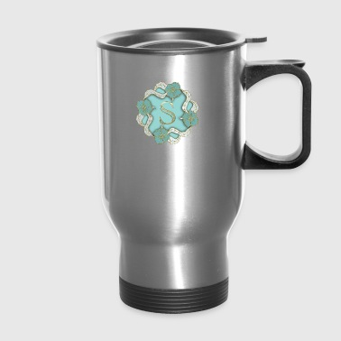 S Monogram - Travel Mug