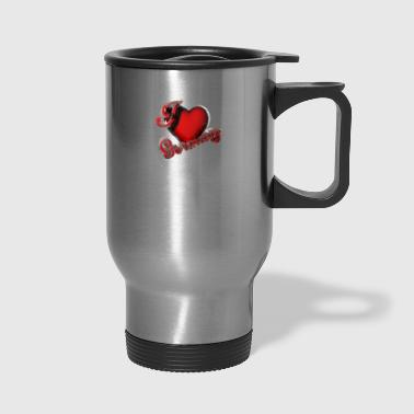 I love Germany - Travel Mug