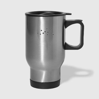 Target With Bullet Holes - Travel Mug