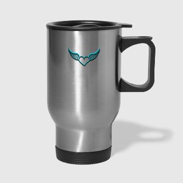 Heart With Wings Heart with wings - Travel Mug