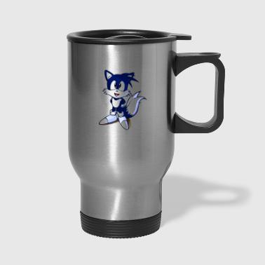 DEB76AD7 7511 4FD2 87E4 CC7D038C4568 tails merch p - Travel Mug