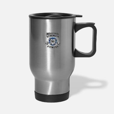 Workout Industrial strength fitness - Travel Mug