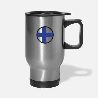 Baltic Sea Under The Sign Of Finland - Travel Mug