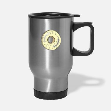 Yellow Donut - Travel Mug