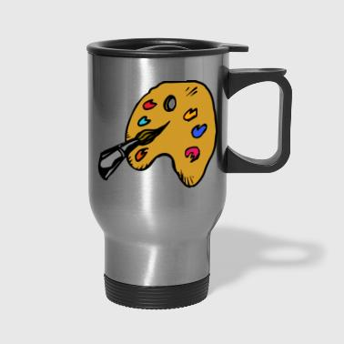 paint - Travel Mug