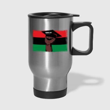 Black And Educated - Travel Mug