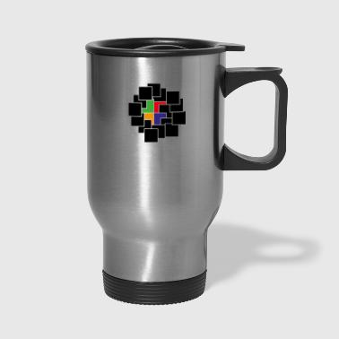 cubes - Travel Mug