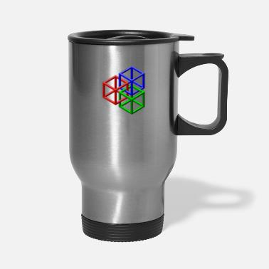 Clip Art clip art geometric designs - Travel Mug