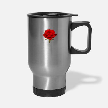 Rose A Rose is a Rose - Travel Mug