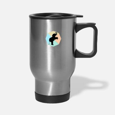 South Africa Elephant - Travel Mug