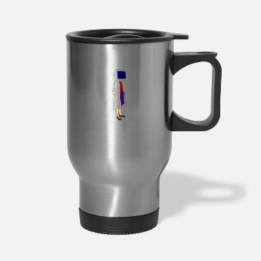 Monitoring CRT Monitor Head - Travel Mug