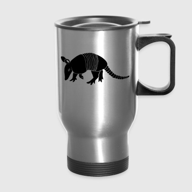armadillo texas turkey hillbilly - Travel Mug