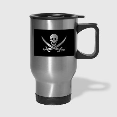 Classic Pirate Flag - Travel Mug