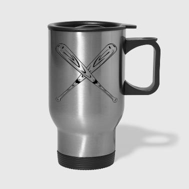 Baseball Bats - Travel Mug