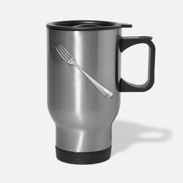 Fork fork - Travel Mug