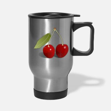 Cherry cherries - Travel Mug
