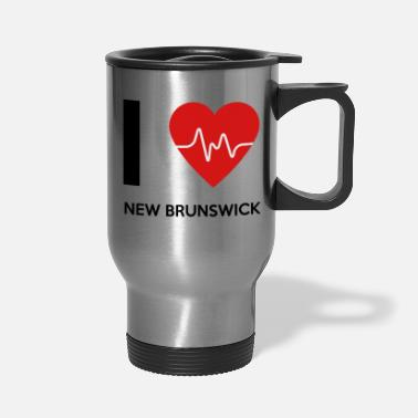 New Brunswick I Love New Brunswick - Travel Mug