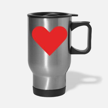 Cuore Love Heart - Travel Mug