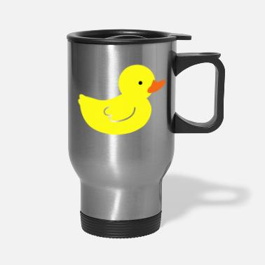 Rubber Duckie rubber ducky - Travel Mug