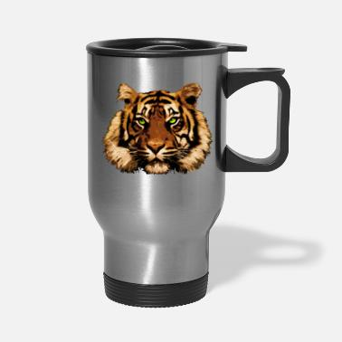 Tiger Thoughts - Travel Mug