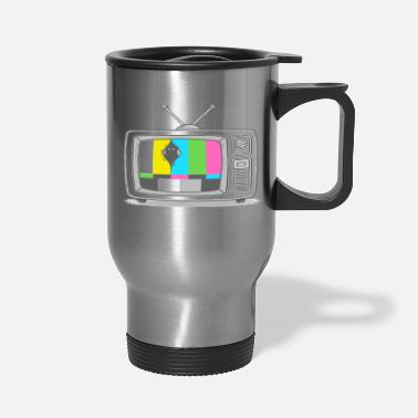 Watch Tv Watching TV - Travel Mug