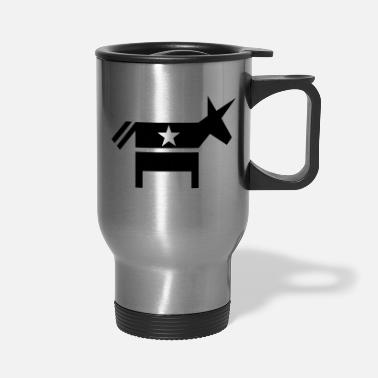 Democrat Democrat - Travel Mug