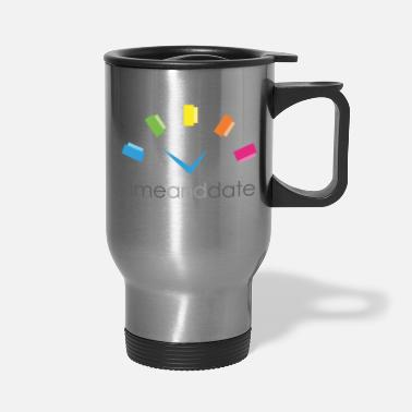Date Time and Date - Travel Mug