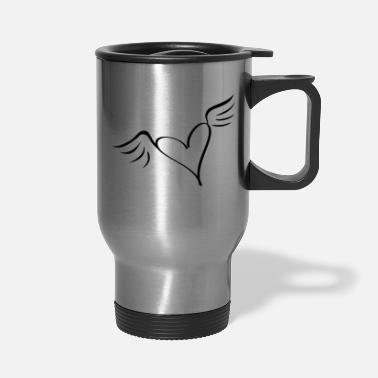 Serce wings - Travel Mug