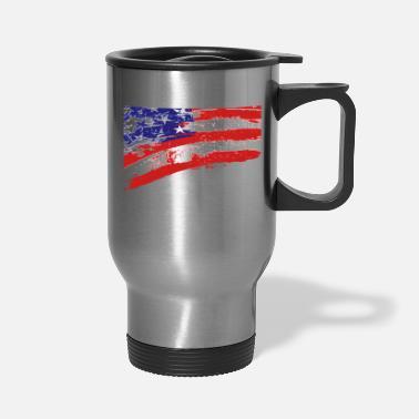 Usa USA! USA! USA! - Travel Mug