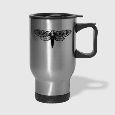 Moth Illustration - Travel Mug