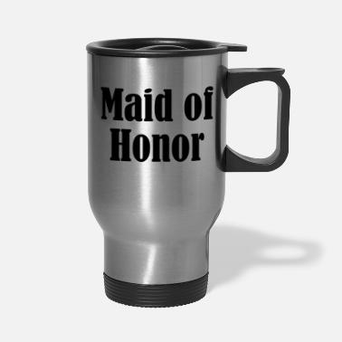 Wedding Party Maid of Honor, Wedding Party, Bridal Party - Travel Mug