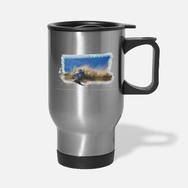 One Good Turn - Motocross Racing - Travel Mug