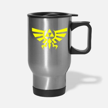 Vector Triforce vectorized - Travel Mug