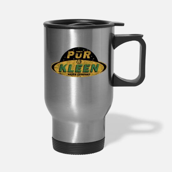 58ac490fb32 The Expanse - Pur & Kleen Water Company - Dirty Travel Mug   Spreadshirt
