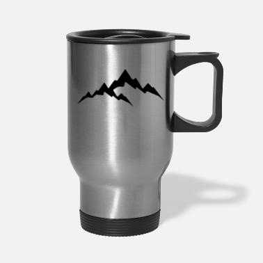 Alps Mountain - Alps - Travel Mug