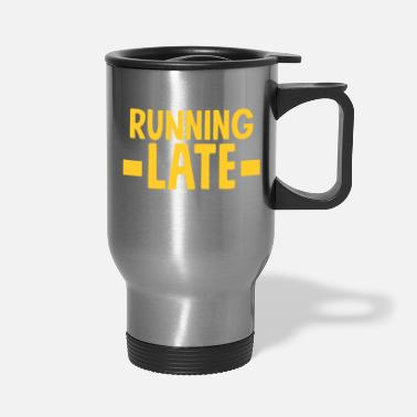 Running Funny Running - Travel Mug