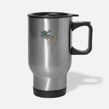 Scandinavia moose scandinavia - Travel Mug