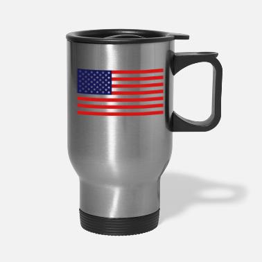 United States Flag - Travel Mug